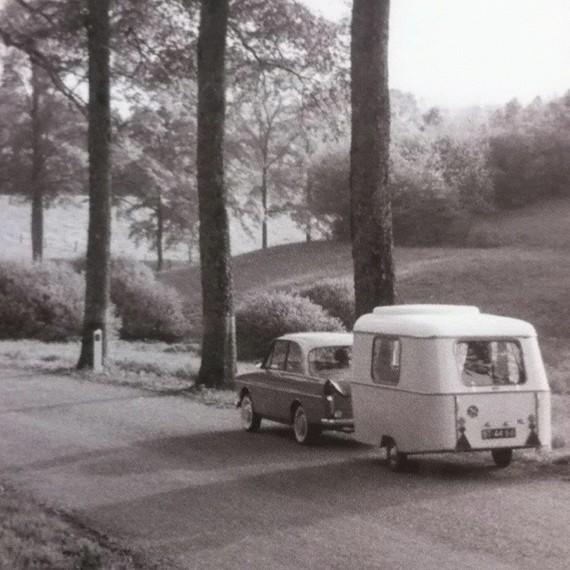 une caravane vintage